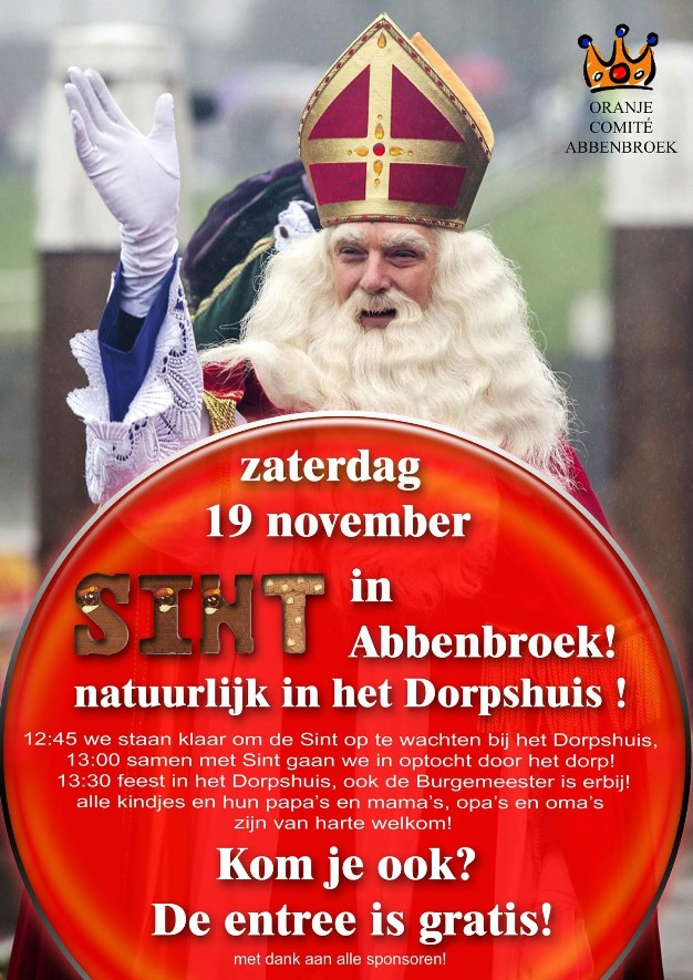 Sint 2016 intocht